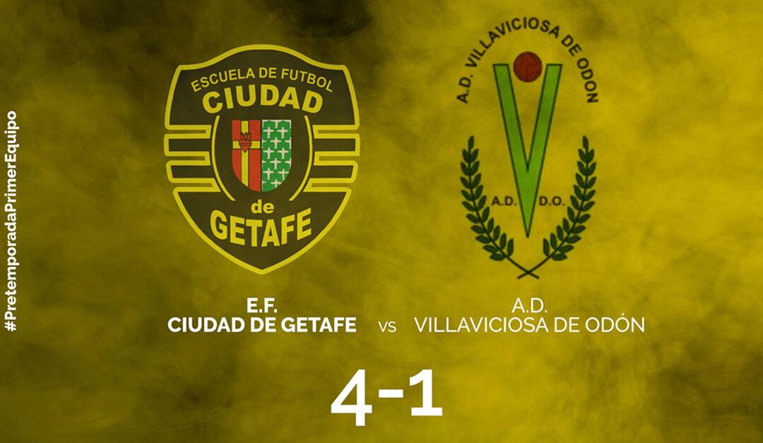 Primer partido de Pretemporada 2017. Ciudad de Getafe 4-1 Villaviciosa de Odón B